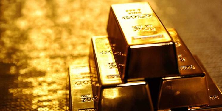قیمت طلا بیش از 3 دلار افزایش یافت