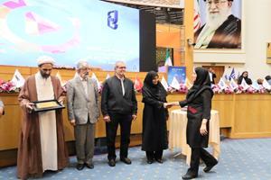 مدیر کنترل کیفیت کارخانه شیراز به عنوان مدیر نمونه کشوری تقدیر شد