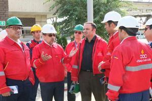 بررسی عملکرد شرکت نفت پاسارگاد در کارخانه تهران