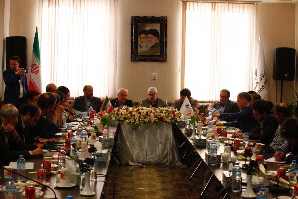 نخستین جلسه ستاد حمایت قضایی از تولید و سرمایه گذاری در شهرک مامونیه زرندیه ساوه برگزار شد.