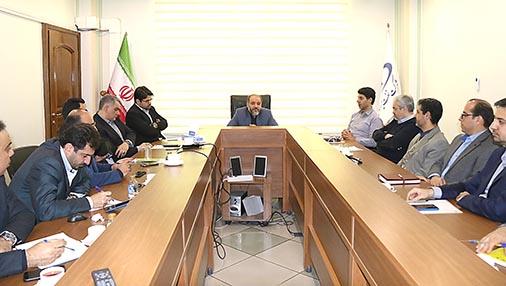 نخستین جلسه شورای مدیران ایرانول با حضور مهندس محسنی مجد برگزار شد
