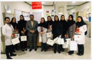 مدیر استان هرمزگان بیمه سرمد از پرستاران بیمارستانهای بندرعباس قدردانی کرد