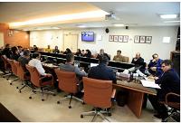 گفتگوی صمیمانه مدیرعامل پتروشیمی جم با کارکنان واحد امور حقوقی و پیمانها