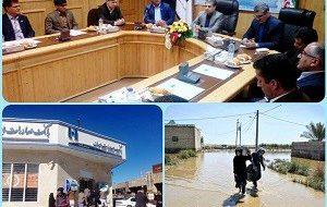 بانک صادرات ایران به هر خانواده سیلزده ۵٠ میلیون ریال وام قرضالحسنه پرداخت میکند