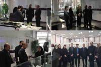 معاون عملیات بانکی از شعب استان تهران بانک ایران زمین بازدید کرد