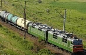 (قطار باری در مسیر اسلامشهر-آپرین از ریل خارج شد