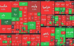 شاخص بورس ایران امروز 28 اردیبهشت 16 هزار واحد سقوط کرد