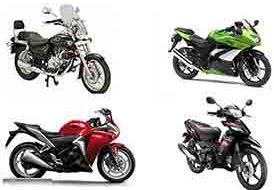 (قیمت جدید موتورسیکلت در اولین روز آبان