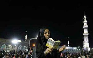 اعمال شب 23 ماه رمضان/خواندن 100 رکعت نماز