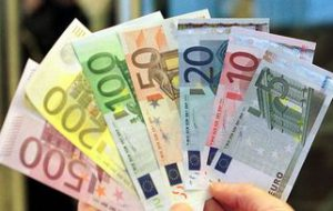 قیمت یورو امروز یکشنبه 8 تیر