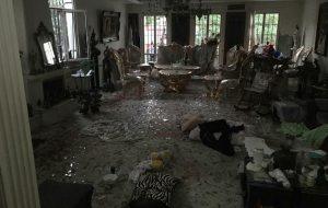 انفجار منزل مسکونی در شهرک غرب تهران|عکس