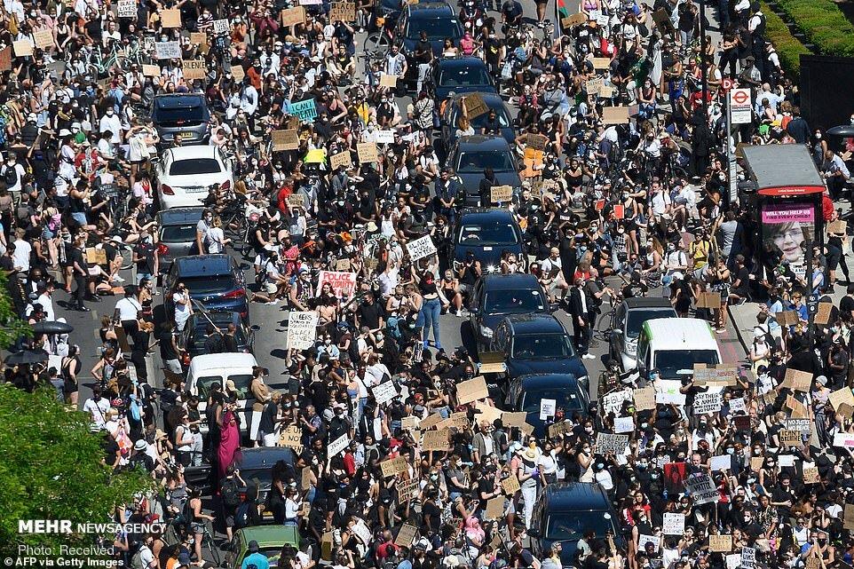 اعتراضات آمریکا+کینیاپولیس+جورج فلوید