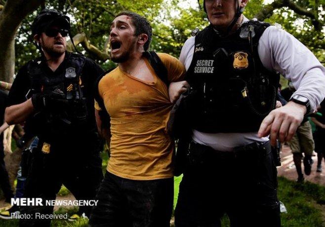 بازداشت گسترده معترضان به نژادپرستی در کالیفرنیا!