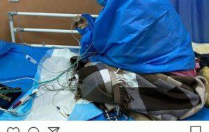 (عروس امام خمینی به کرونا مبتلا شد