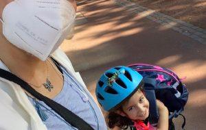 (مهناز افشار به تازگی عکسی جدید از خودش و دخترش منتشر کرد