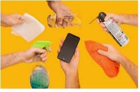 (اسپری زدن مستقیم الکل به موبایل ممکن است باعث انفجار شود