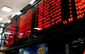 (نقشه بازار سهام بر اساس ارزش معاملات امروز