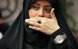 (عکس همسر جدید الهام چرخنده