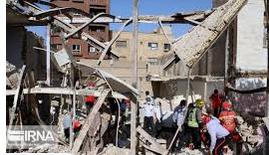 انفجار فجیع گاز در منطقه عامری اهواز+ویدیو