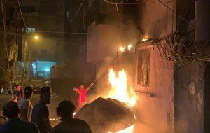 علت انفجار جدید بیروت+ویدیو