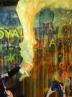 حمله رنگی معترضان تایلند به ساختمان پلیس + تصاویر