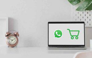 (اضافه شدن گزینه فروشگاه به واتساپ جهت سهولت در خرید