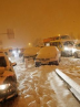 بسته شدن اتوبانها و جادههای اسپانیا بر اثر بارش برف سنگین+تصاویر