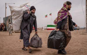 (عزیمت بی سابقه مهاجران افغانستانی از ایران