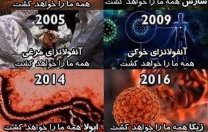 (هر 100 سال یک ویروس درجهان+فیلم