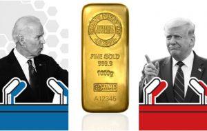زلزله در بازار طلا/میراث خرس به کفتار میرسد/کاهش طلا همزمان با پیروزی بایدن