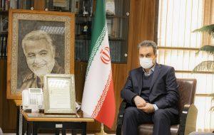 (دیدار مدیرعامل بانک ملت با رییس کمیته امداد امام خمینی( ره) به مناسبت هفته نیکوکاری