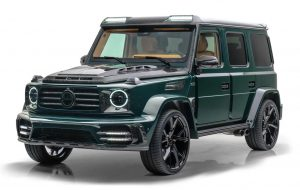 (قیمت خودروی سفارشی مرسدس گرونوس ۲۰۲۱ آلمان به همراه مشخصات و آپشن ها
