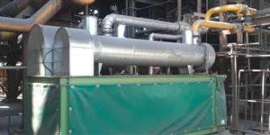 نصب و راه اندازی دو عدد درایر گاز سیل واحد احیا مستقیم ۱