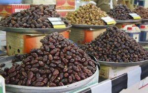 (افزایش قیمت خرما در بازار،به بستهای ۵۰ هزار تومان رسید